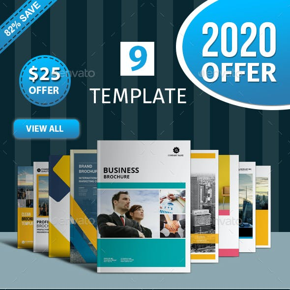 Brochure Template Bundle - 3