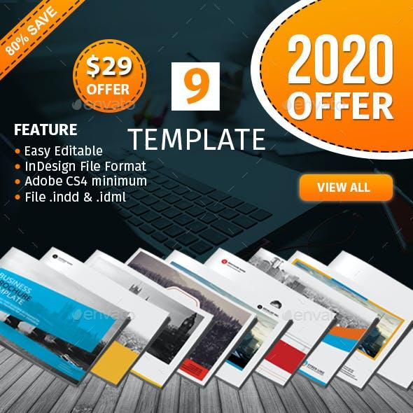 Lanscape Brochure Template Bundle