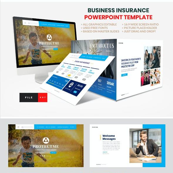 Insurance - Business PowerPoint Template