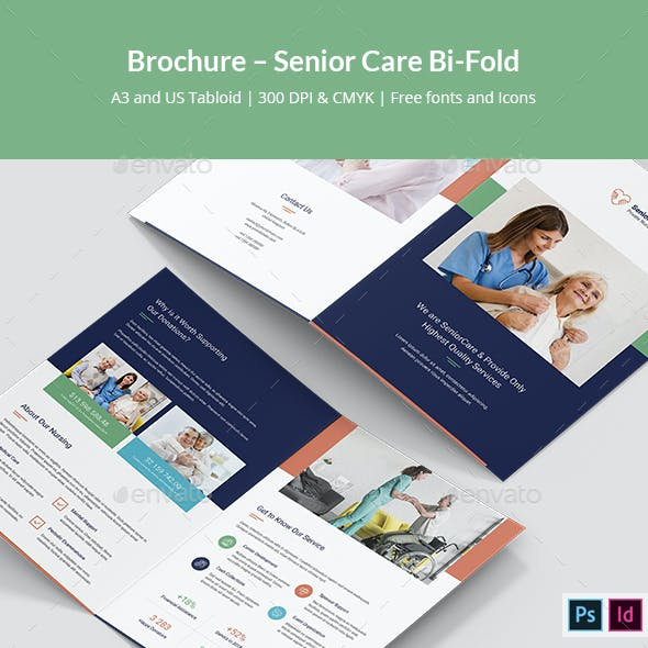 Brochure – Senior Care Bi-Fold