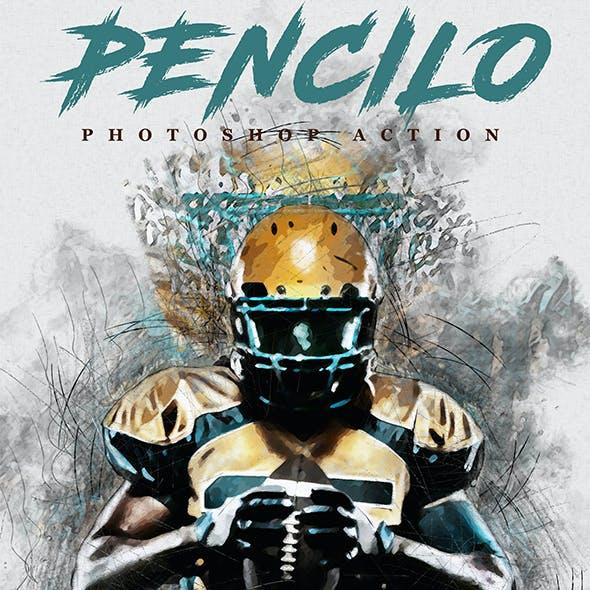 Pencilo - Pencil Sketch Art Photoshop Action