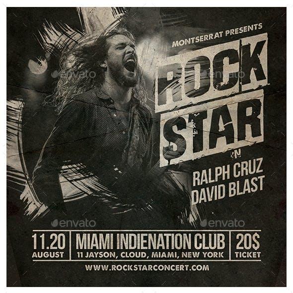 Rock Star Flyer