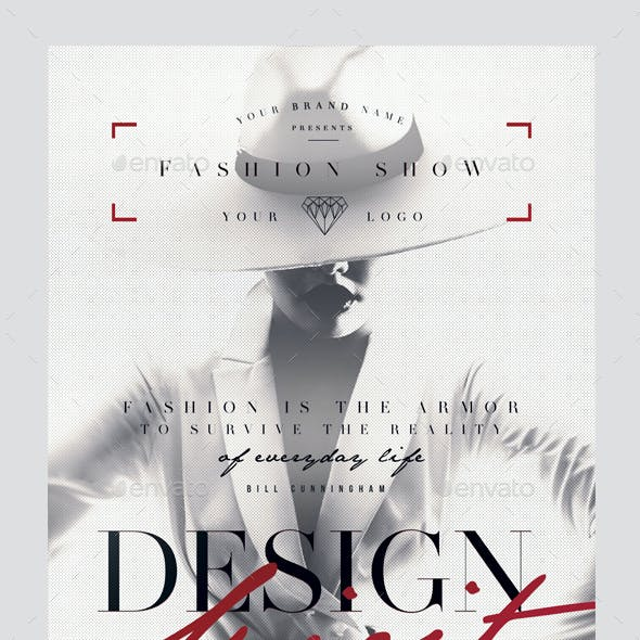Design Spirit Flyer Template