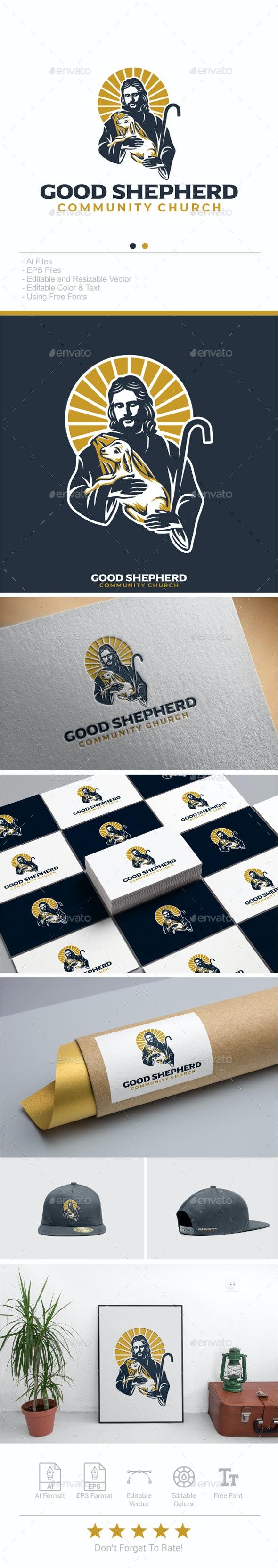 Good Shepherd Logo - Humans Logo Templates