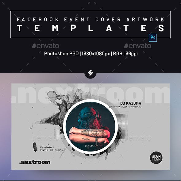 Club Music DJ Party - Facebook Event Cover Templates