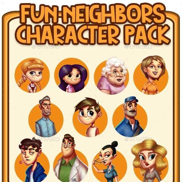Neighbors Character Pack