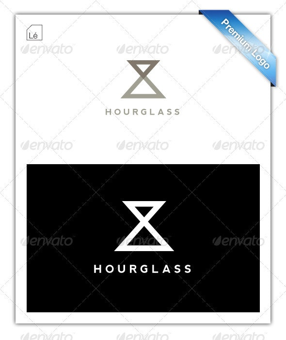 Infinity Abstract Hourglass Logo - Abstract Logo Templates
