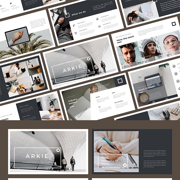 Arkie Keynote Template