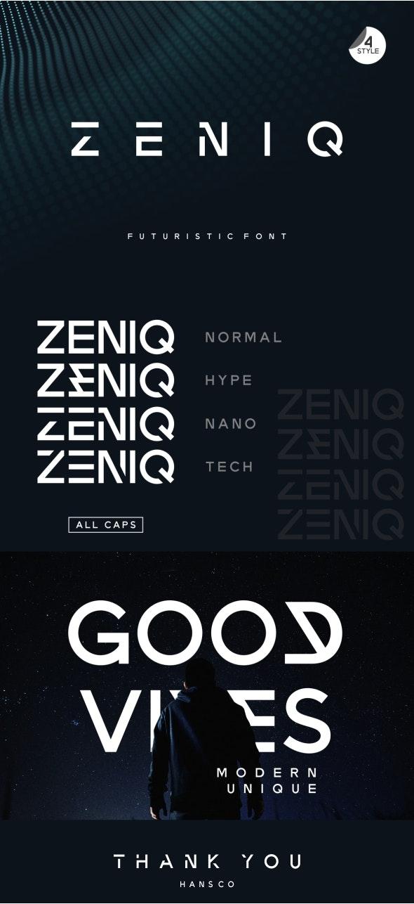 Zeniq - Futuristic Decorative