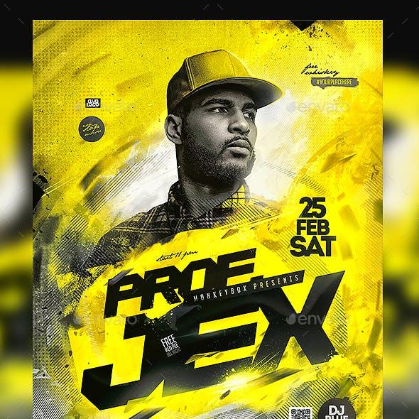 Rap Artist Flyer