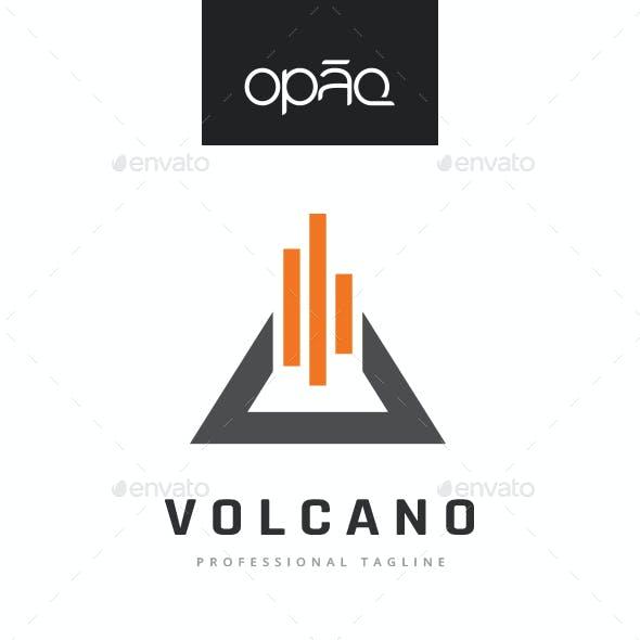 Triangle Volcano Logo