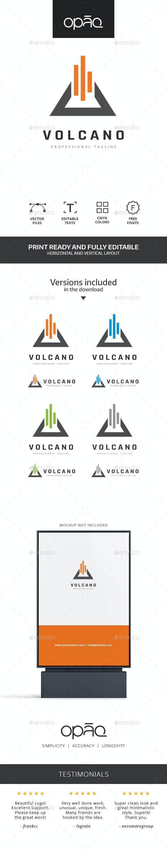 Triangle Volcano Logo - Symbols Logo Templates