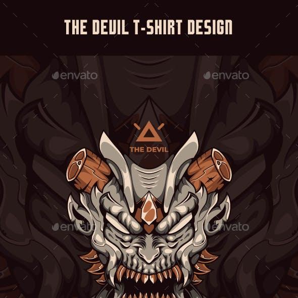 The Devil T-Shirt Design