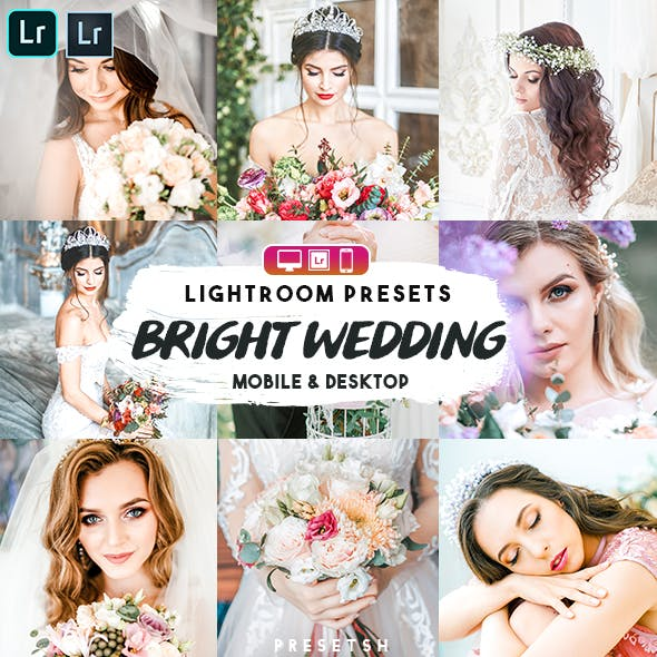 Bright Wedding Lightroom Presets