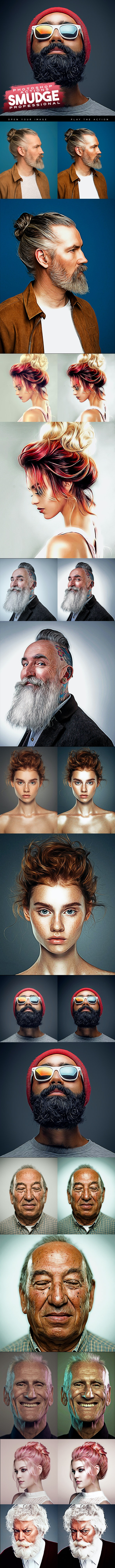 Smudge Professional Photoshop Actions - Photo Effects Actions