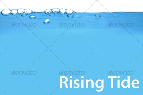 Rising Tide HD: High Res Water Level Sideview - Liquid Textures