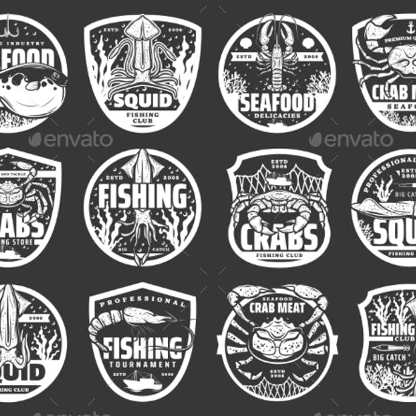 Fishing Sport Icons