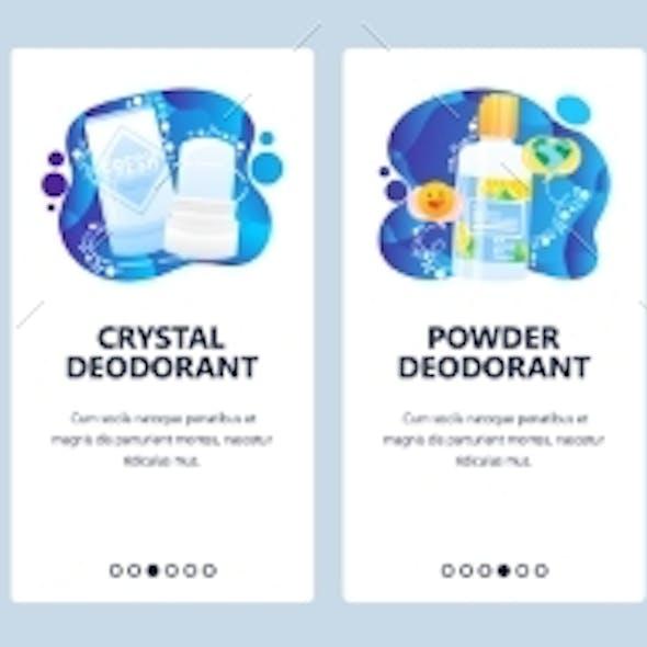 Different Types of Deodorant, Stick, Cream, Spray