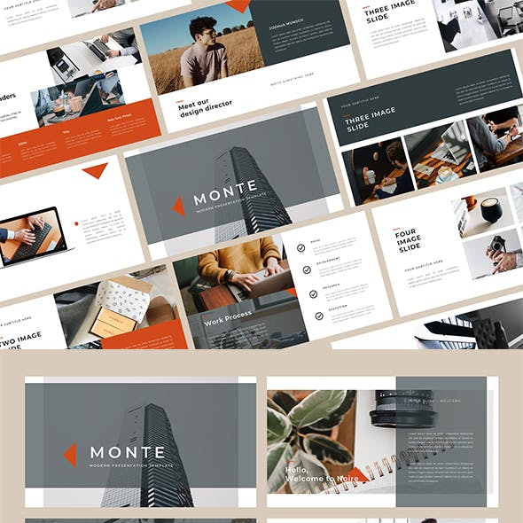 Monte PowerPoint Template