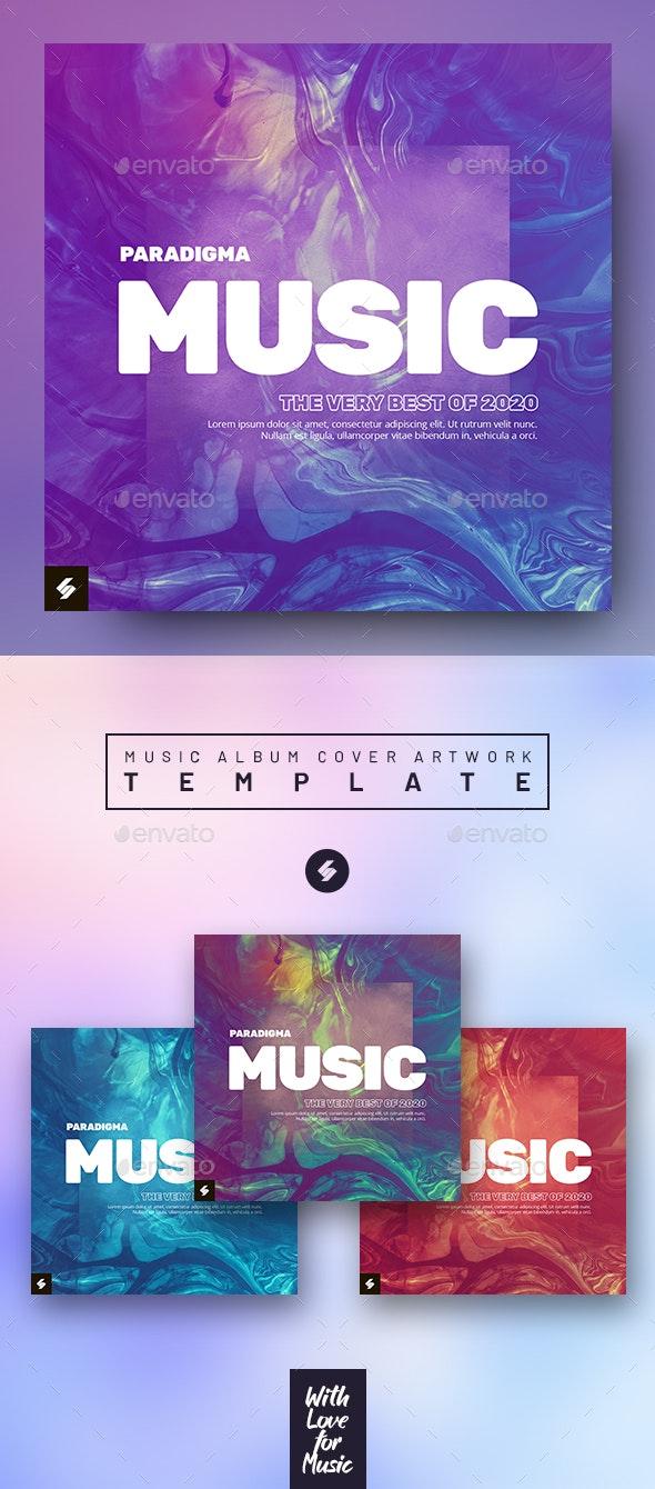 Paradigma - Music Album Cover Artwork Template - Miscellaneous Social Media
