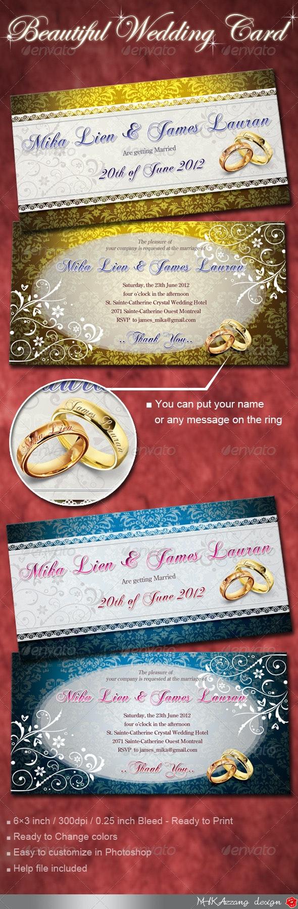 Elegant Wedding Invitation Cards - Weddings Cards & Invites