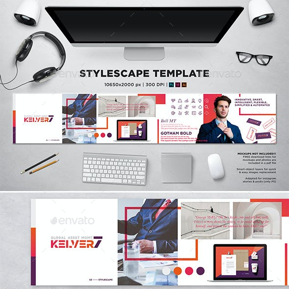 Stylescape / Moodboard Template 02