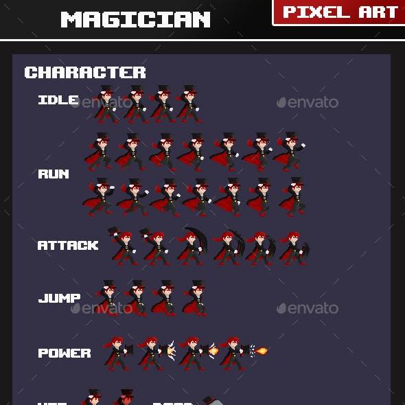 Magician Pixel Art