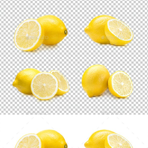 Lemon Fruit Set
