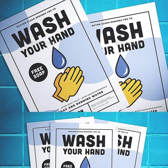 Wash Hand Flyer