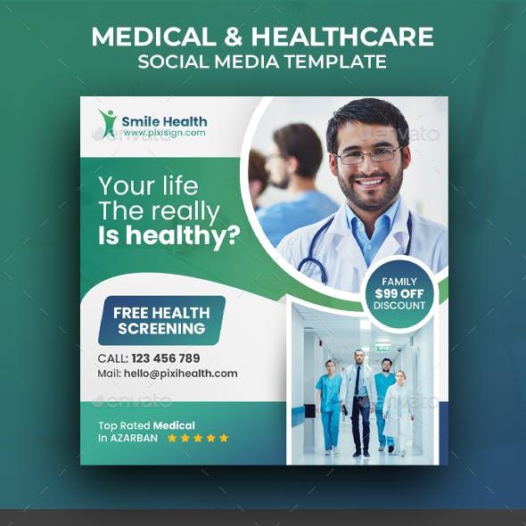 Medical Social Media Template