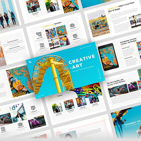 Creative-Art – Creative Business Keynote Template