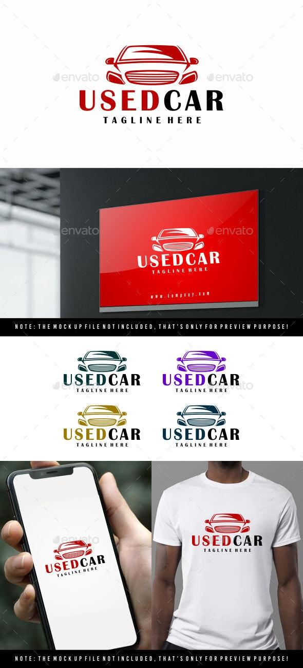Used car logo - Symbols Logo Templates