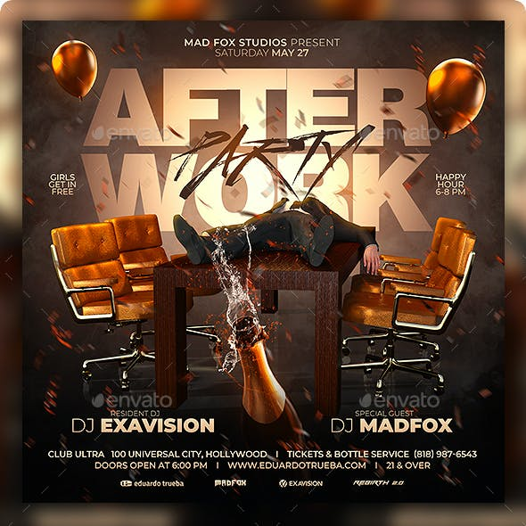 After Work Party Flyer