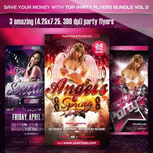 Top Party Flyer Bundle Vol2
