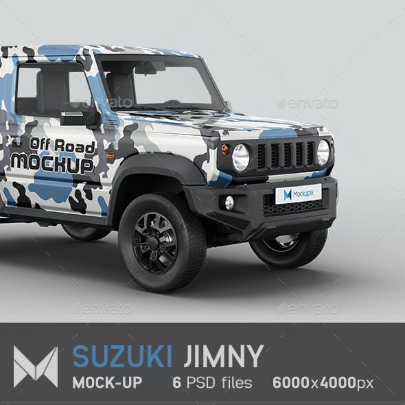 Suzuki Jimny Car Mockup