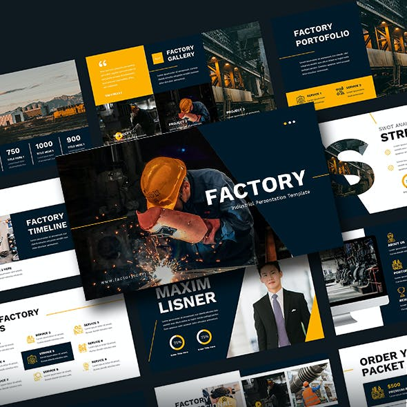 Factory - Industrial PowerPoint Template
