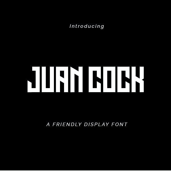 Juan Cock Font