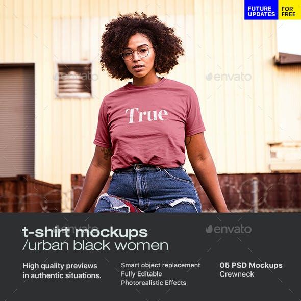 Urban T-Shirt Mock-Up 1
