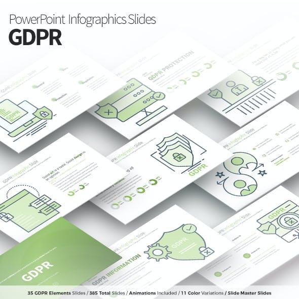 GDPR - PowerPoint Infographics Slides