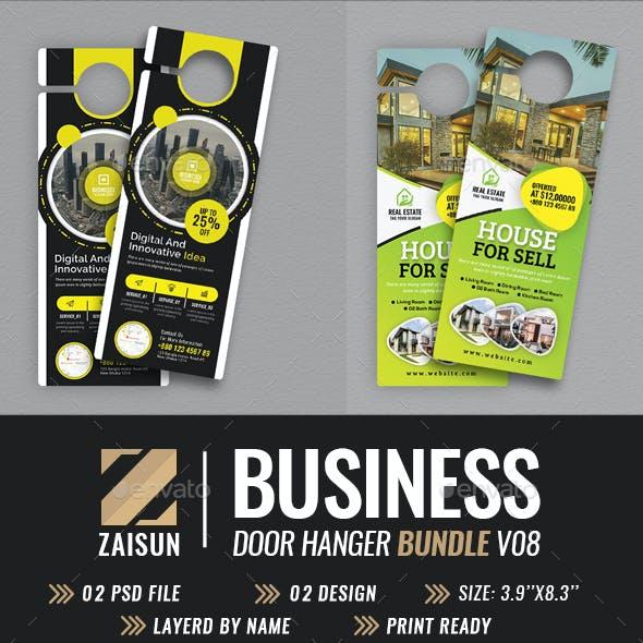 Business Door Hanger Bundle V08
