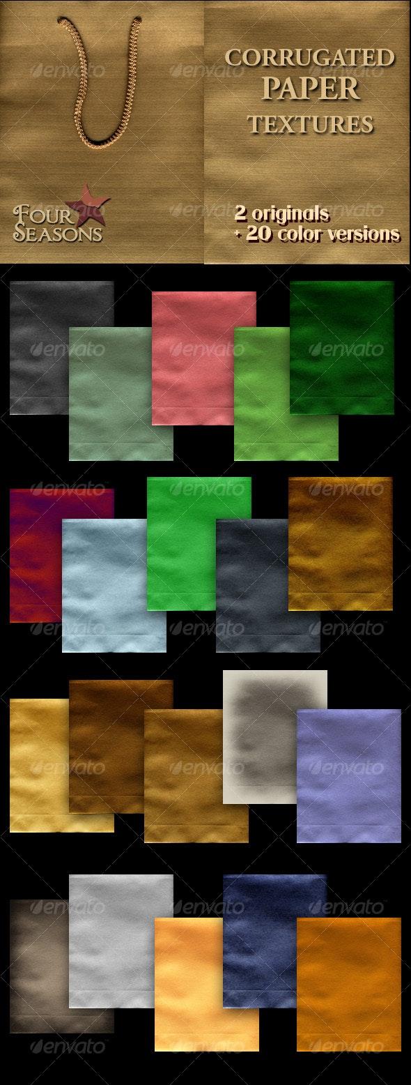 Corrugated paper textures - Paper Textures