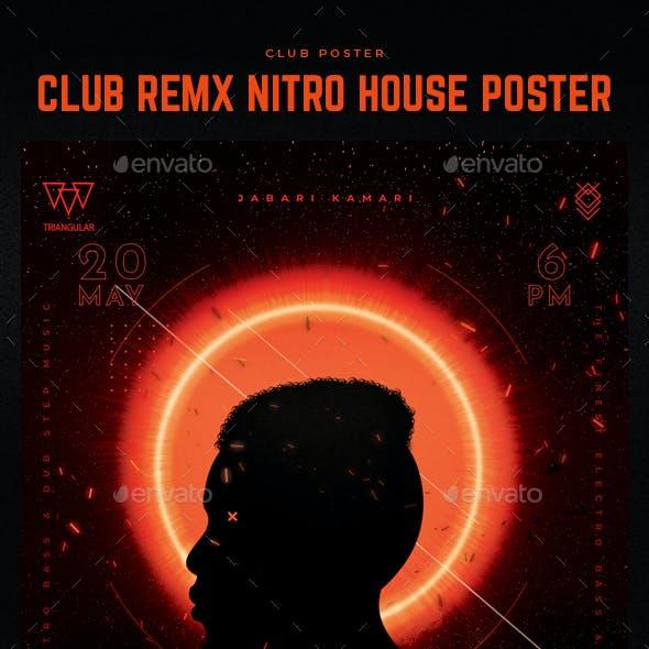 Club Nitro REMX Poster