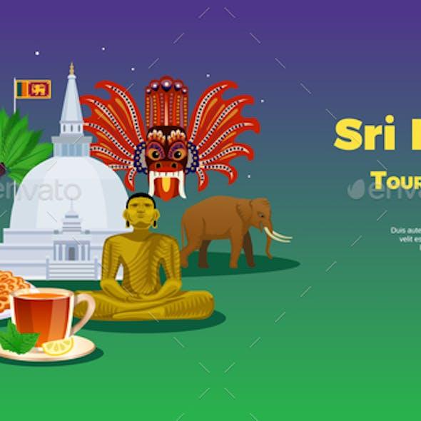 Sri Lanka Tourism Banner