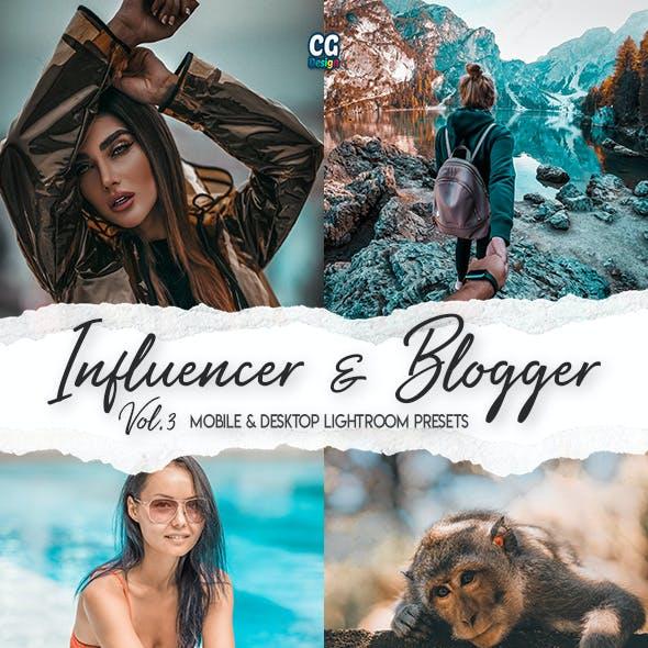 Influencer & Blogger Vol. 3 - 15 Premium Lightroom Presets