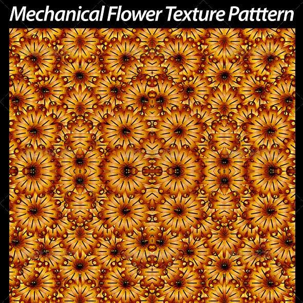 2 Mechanical Flower Texture Pattern