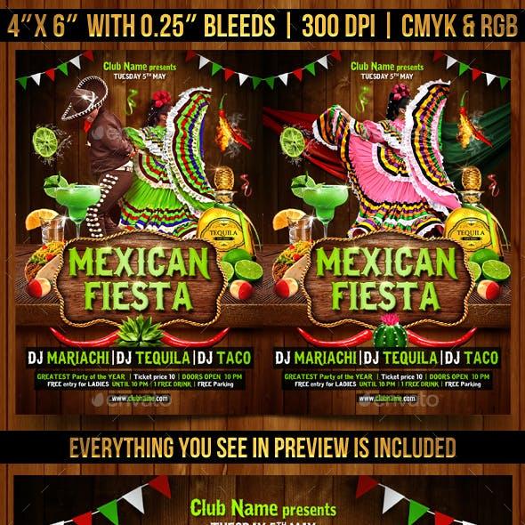 Mexican Fiesta Flyer