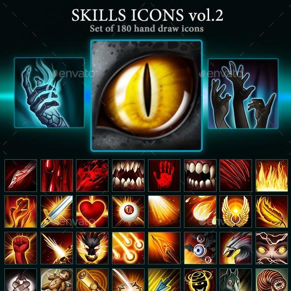 Skills Icons Vol 2