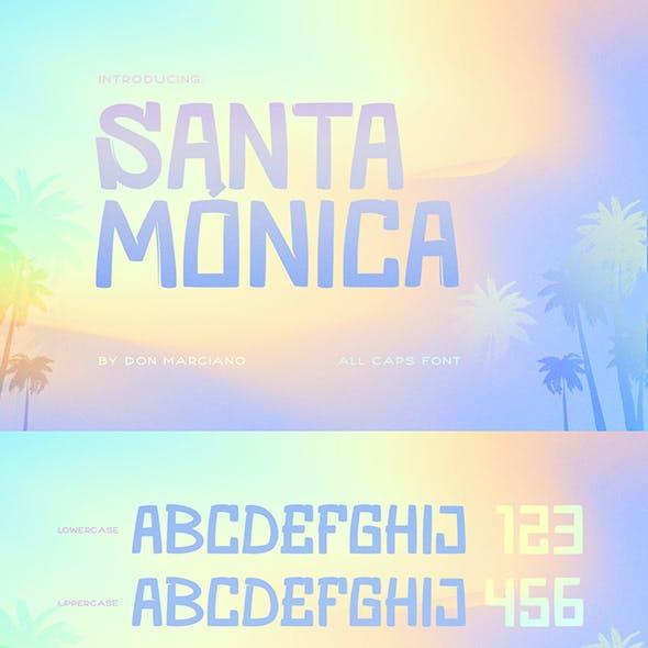 Santa Monica Cool Font