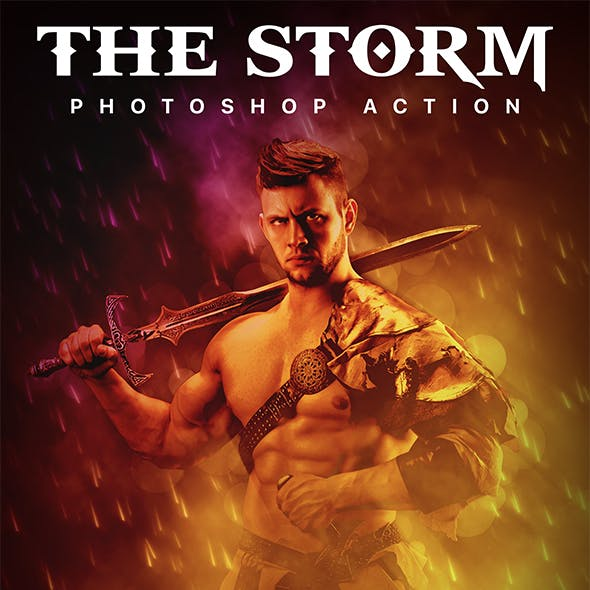 The Storm Photoshop Action