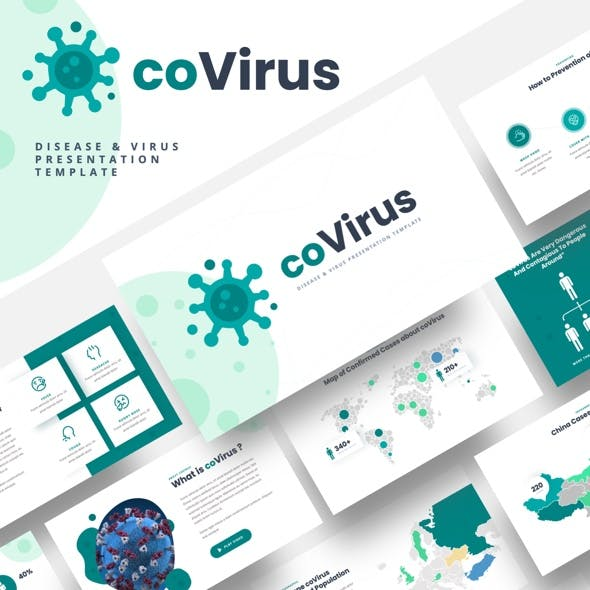 Covirus - Disease & Virus Powerpoint Template
